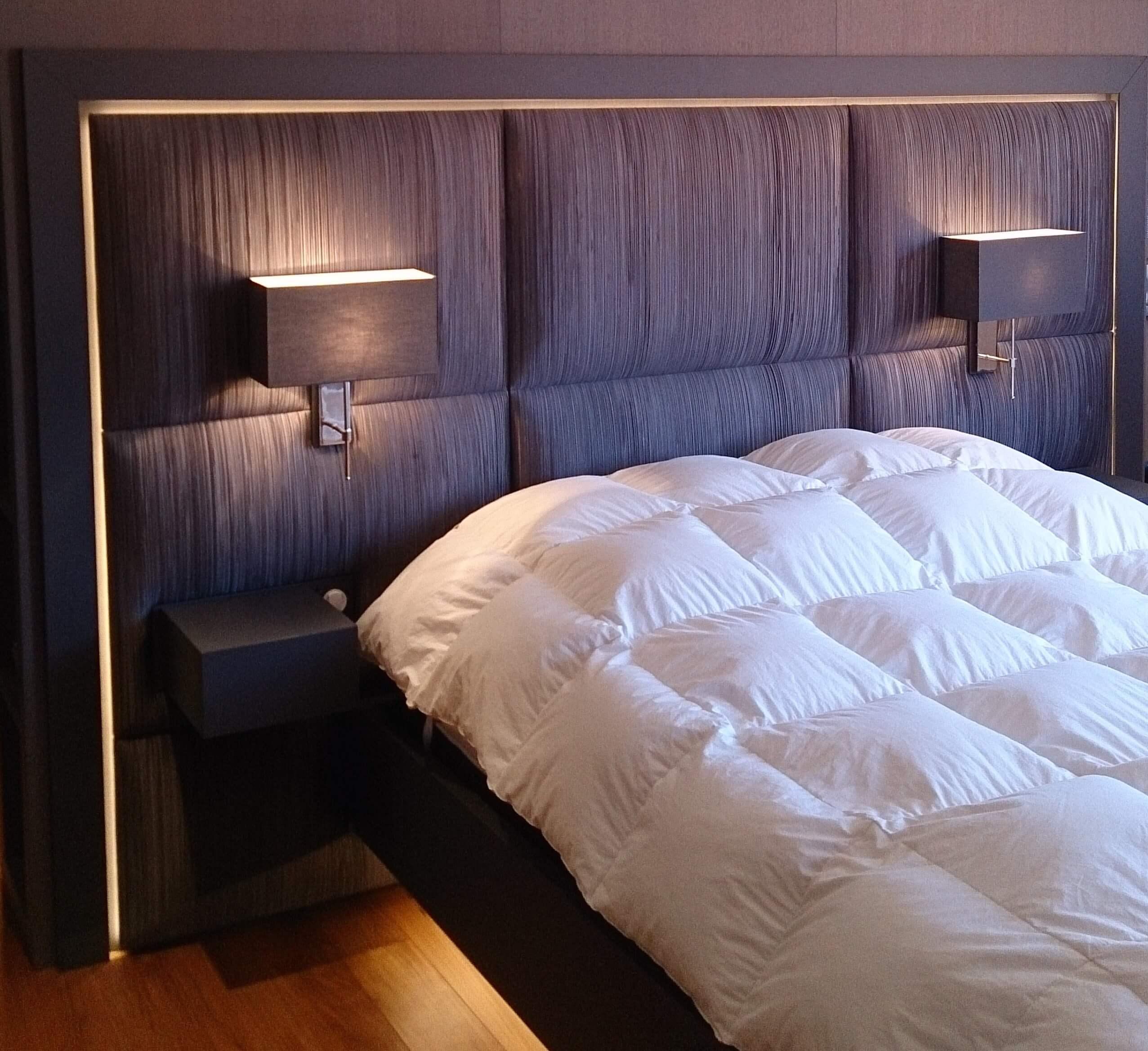 Tête de lit chambre Lyon Modulis